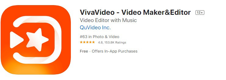 Приложение видео-редактор VivaVideo