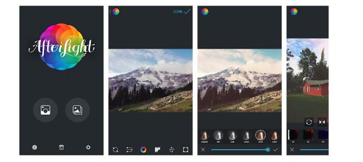 Afterlight - приложение для обработки фото