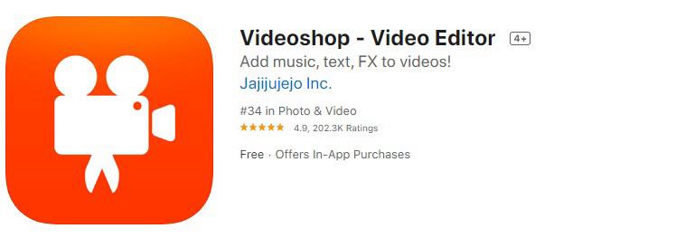 Приложение Videoshop